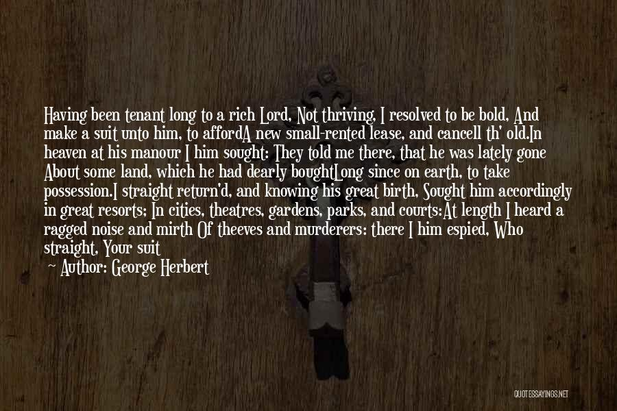 Length Quotes By George Herbert