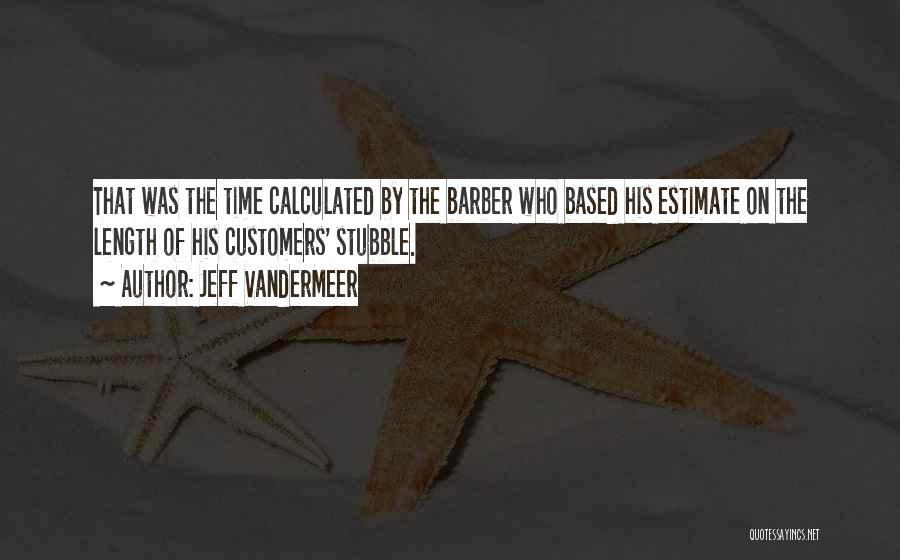 Length Quotes By Jeff VanderMeer