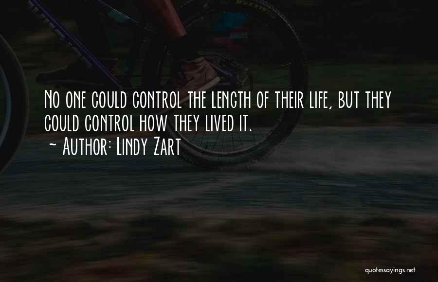 Length Quotes By Lindy Zart