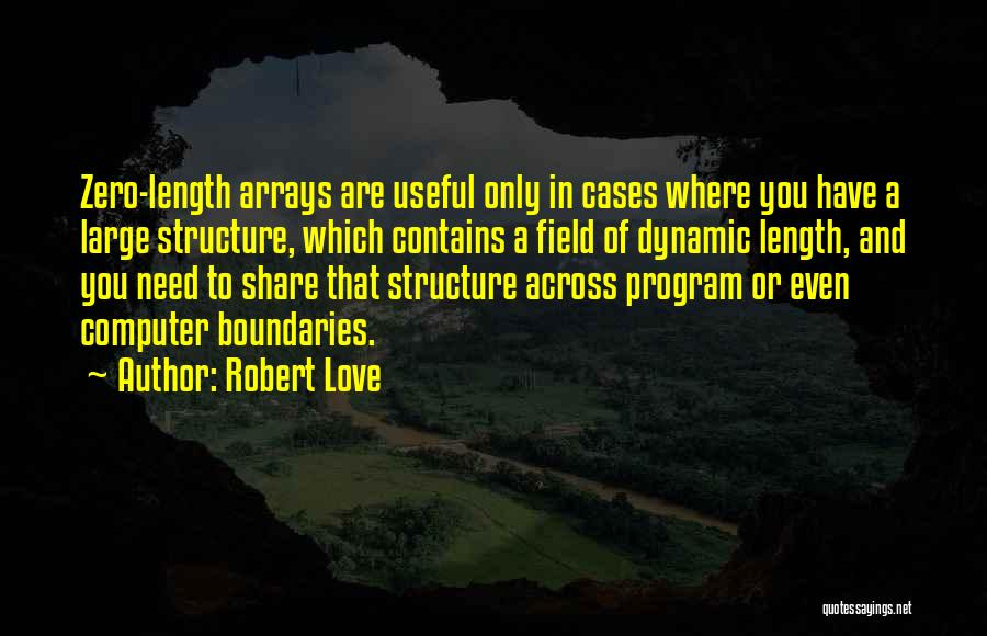 Length Quotes By Robert Love