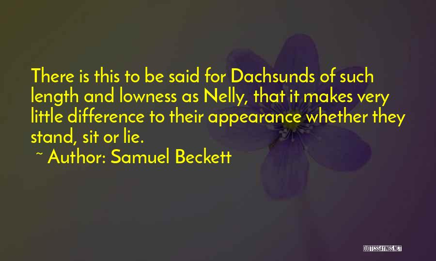Length Quotes By Samuel Beckett