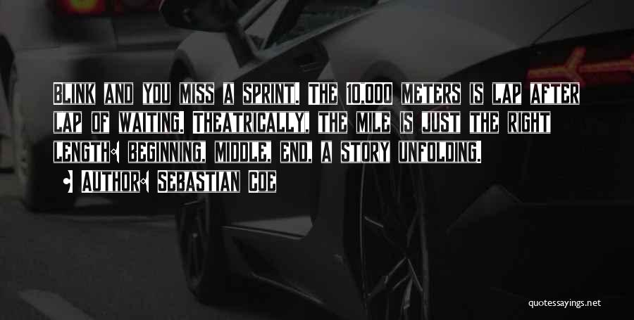 Length Quotes By Sebastian Coe