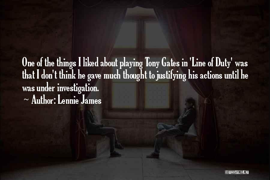 Lennie James Quotes 1901802