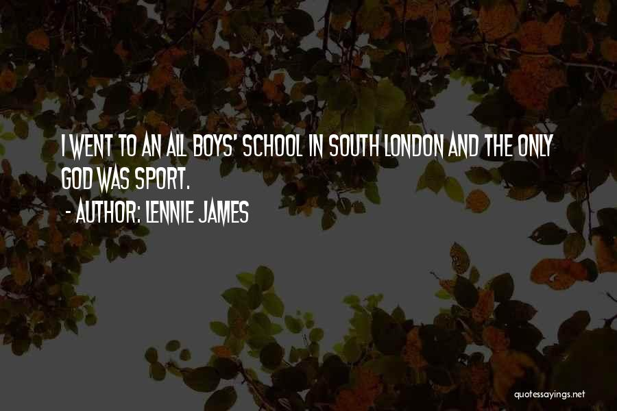 Lennie James Quotes 470866