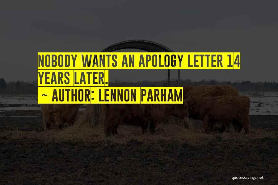 Lennon Parham Quotes 1141823