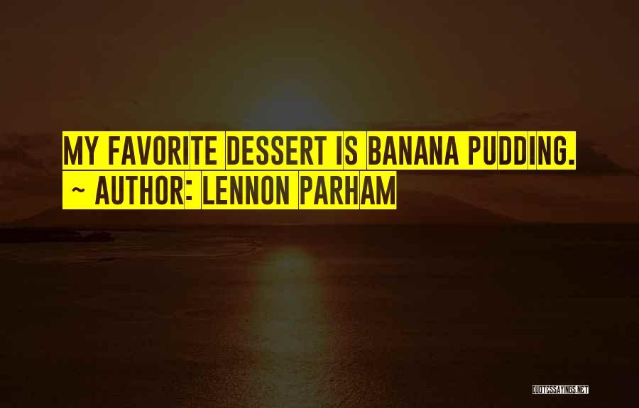 Lennon Parham Quotes 2012845