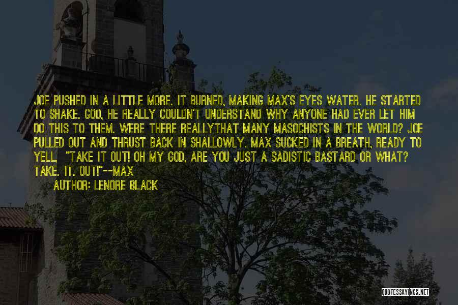 Lenore Black Quotes 1124389