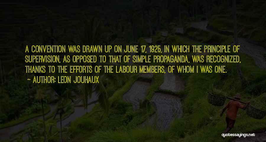 Leon Jouhaux Quotes 1388421