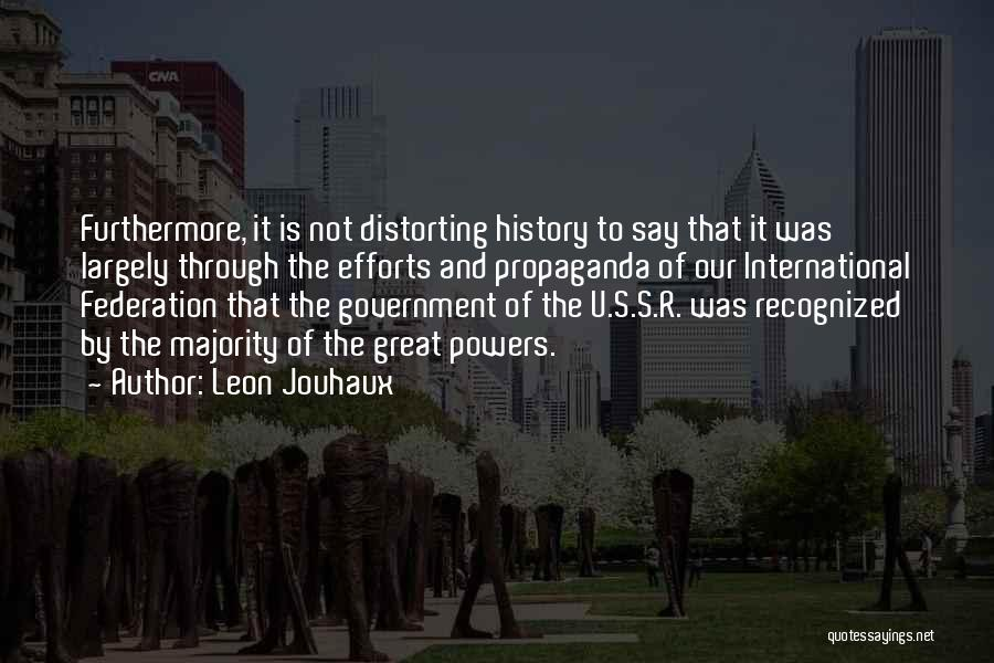 Leon Jouhaux Quotes 1484898