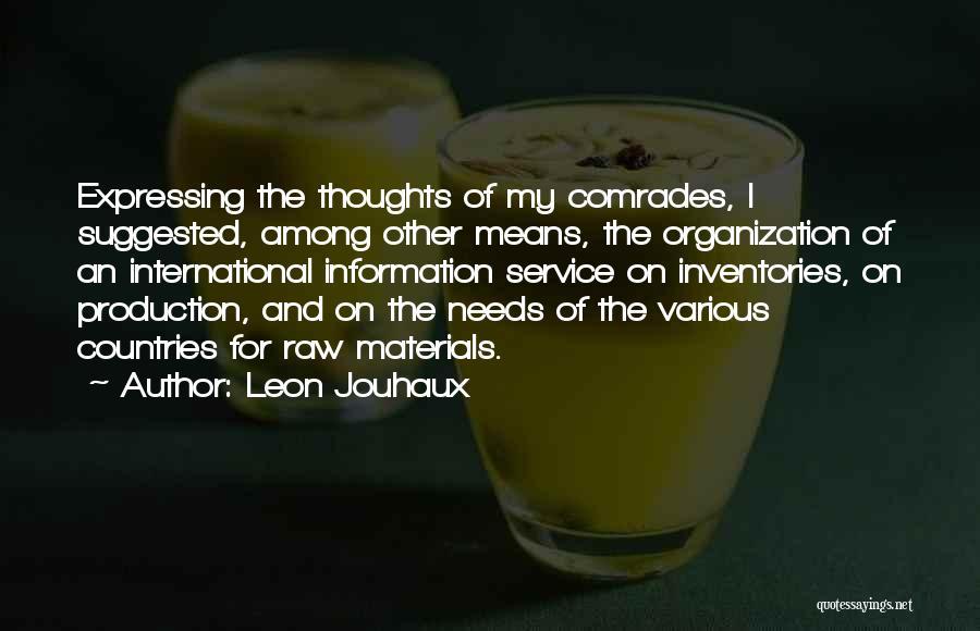 Leon Jouhaux Quotes 1819092