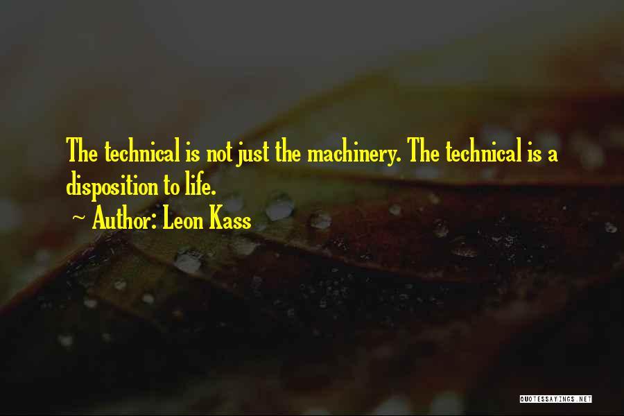 Leon Kass Quotes 550566