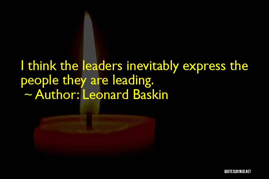 Leonard Baskin Quotes 1465964