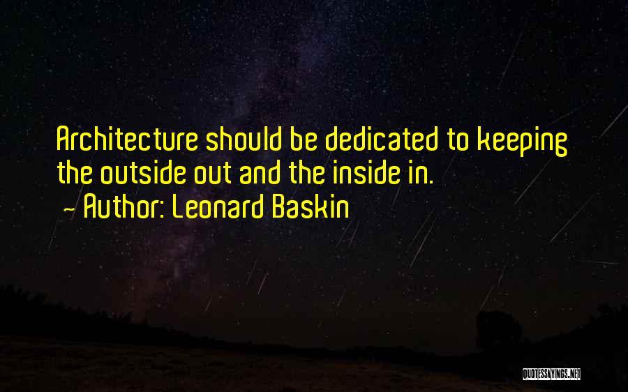 Leonard Baskin Quotes 1998406