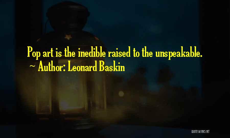 Leonard Baskin Quotes 791172