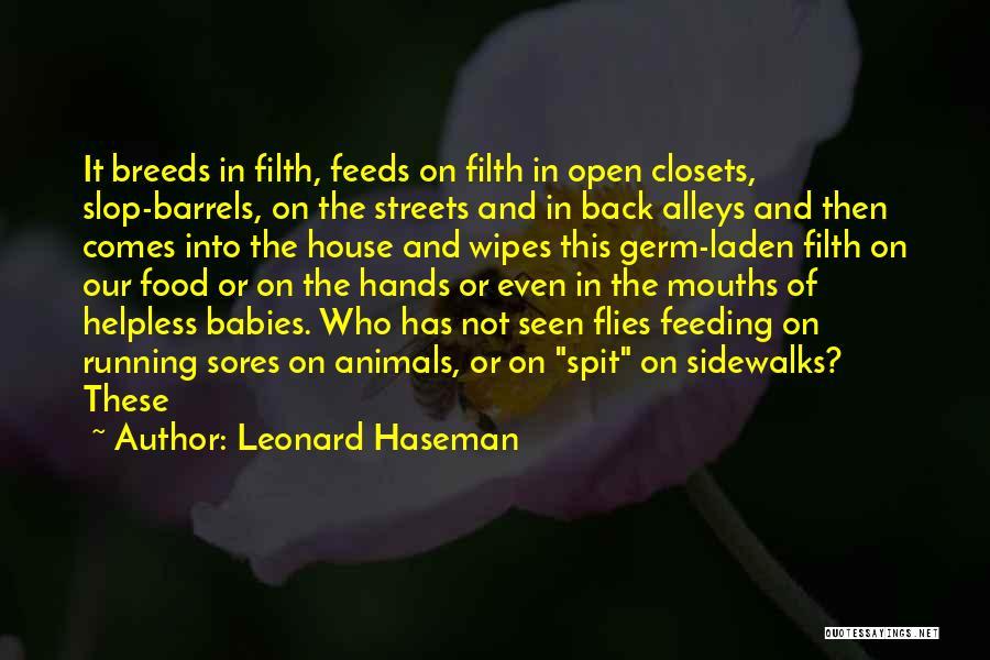 Leonard Haseman Quotes 657973