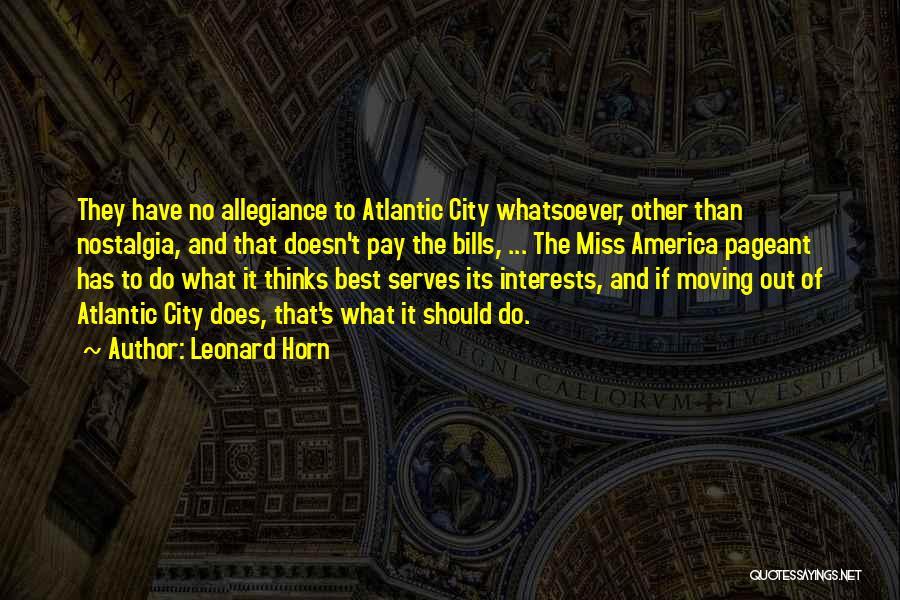 Leonard Horn Quotes 1915387