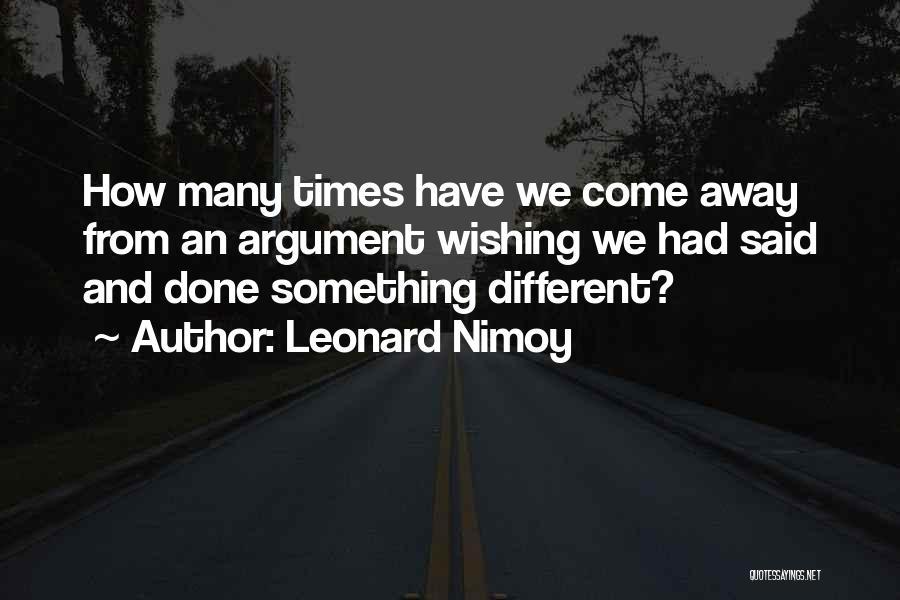 Leonard Nimoy Quotes 1317935