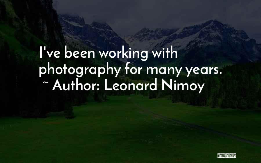Leonard Nimoy Quotes 1827191