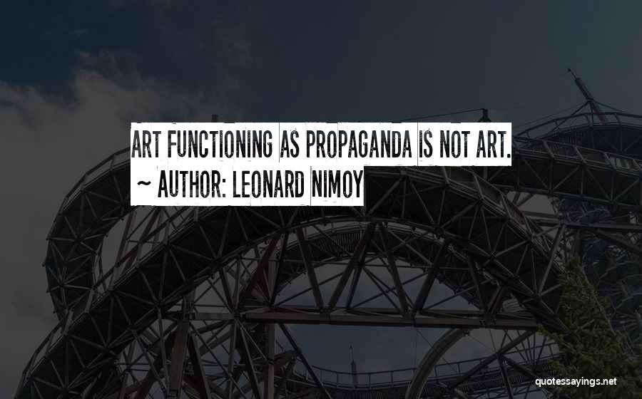 Leonard Nimoy Quotes 1850427