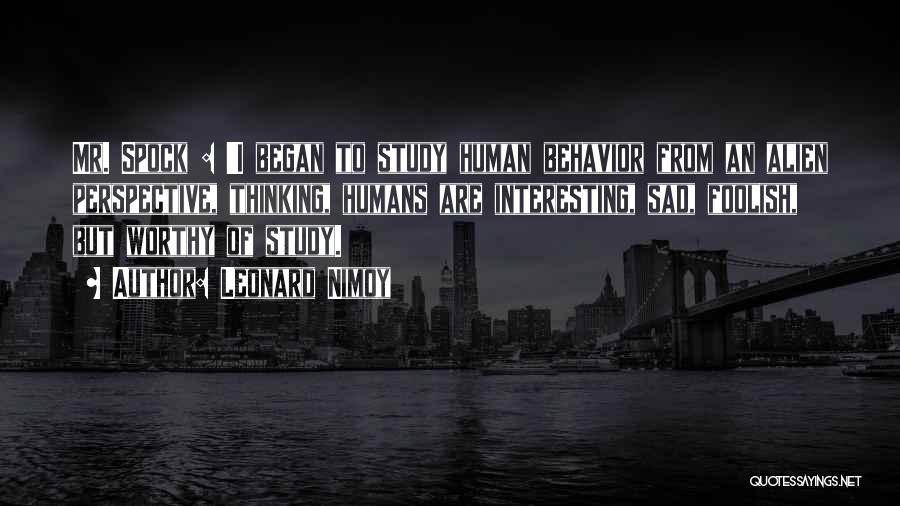 Leonard Nimoy Quotes 332337