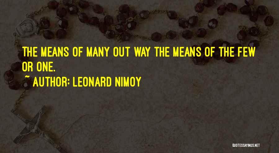 Leonard Nimoy Quotes 580544