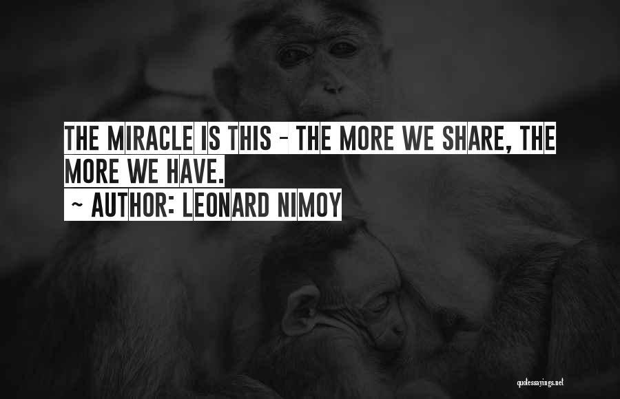 Leonard Nimoy Quotes 655341