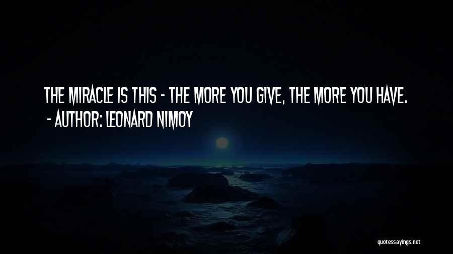 Leonard Nimoy Quotes 669495
