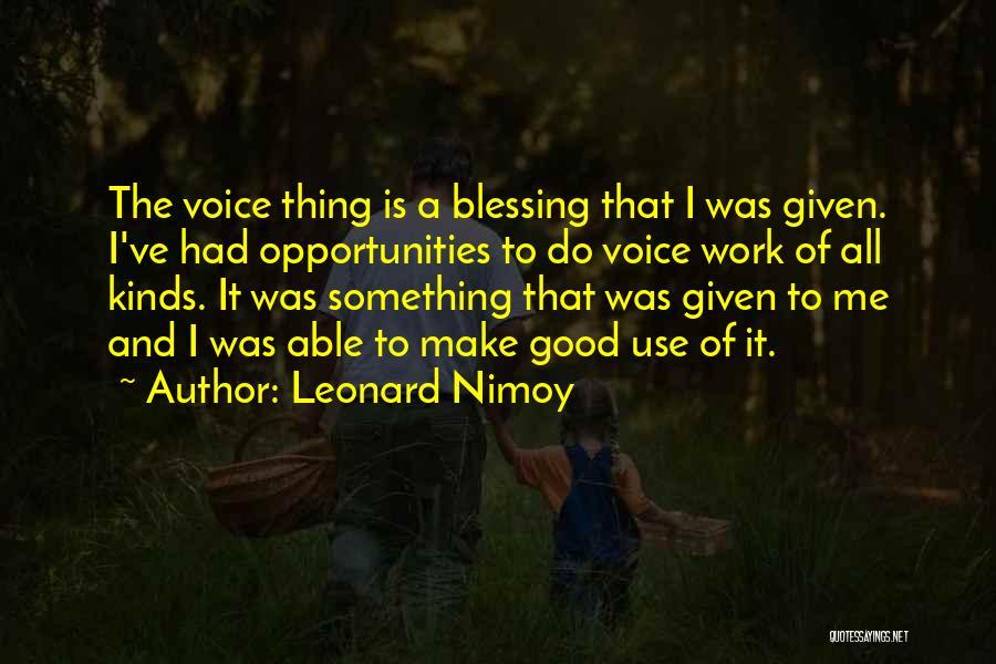 Leonard Nimoy Quotes 97214