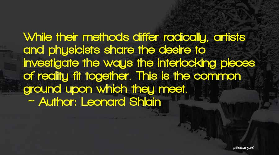 Leonard Shlain Quotes 2160407