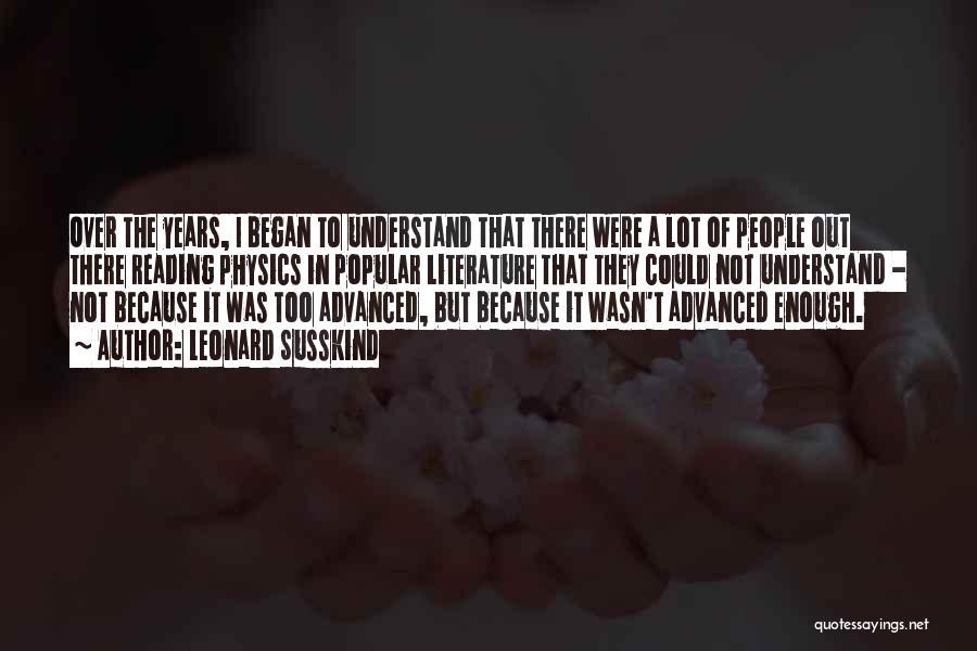 Leonard Susskind Quotes 1480228