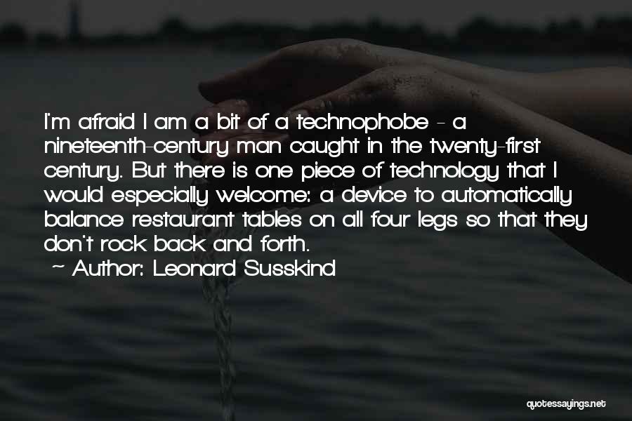 Leonard Susskind Quotes 887226