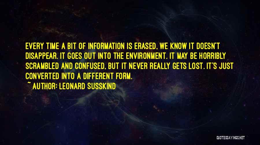 Leonard Susskind Quotes 937465