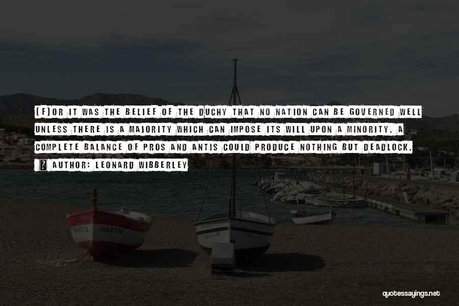 Leonard Wibberley Quotes 100764