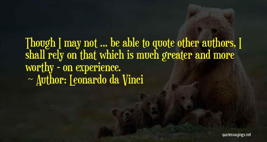Leonardo Da Vinci Quotes 1159350