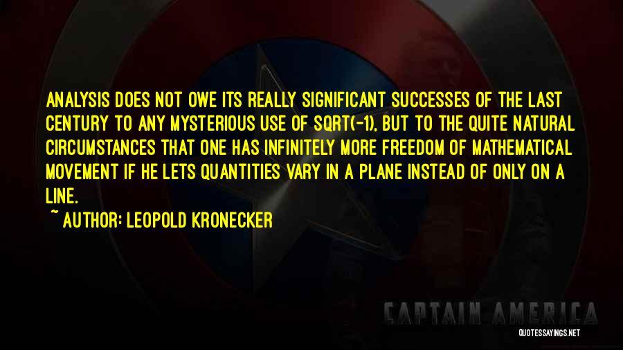 Leopold Kronecker Quotes 1662630
