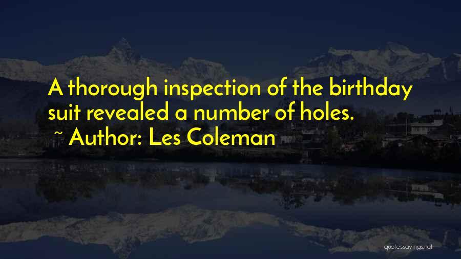 Les Coleman Quotes 831090