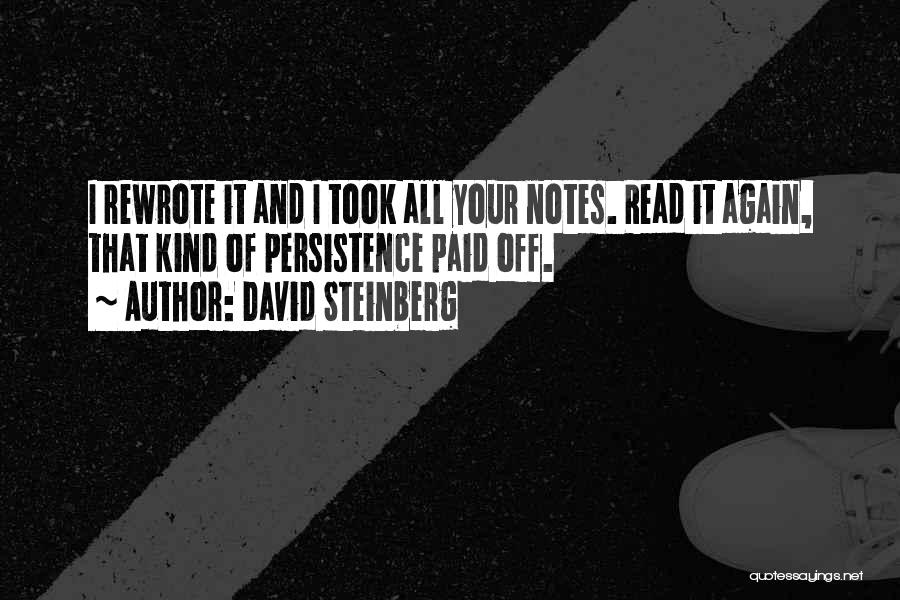 Les Kendall Strictly Ballroom Quotes By David Steinberg