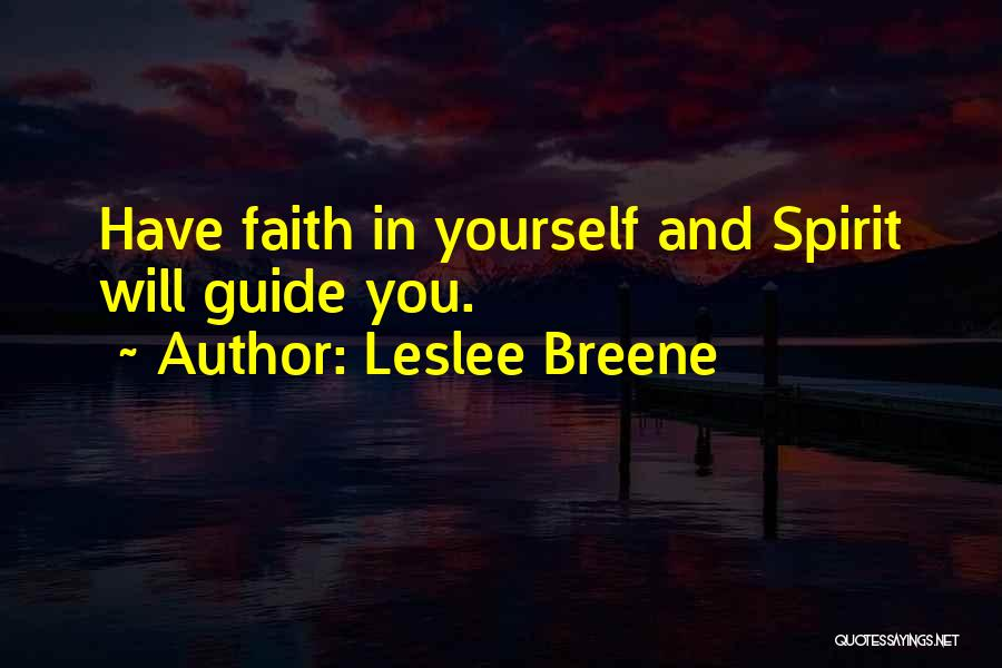 Leslee Breene Quotes 884504