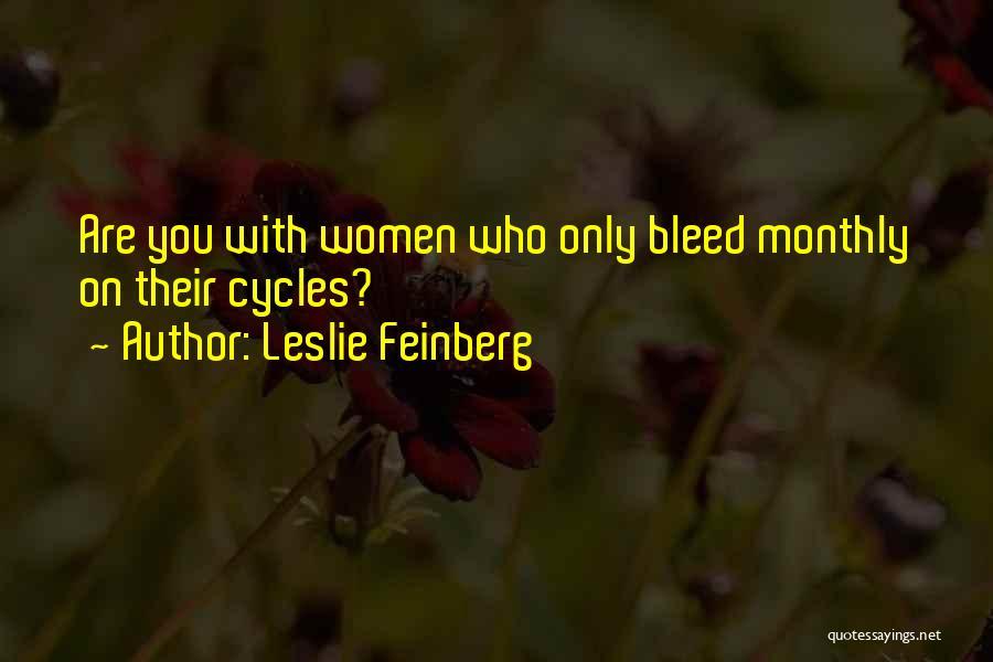 Leslie Feinberg Quotes 1244253