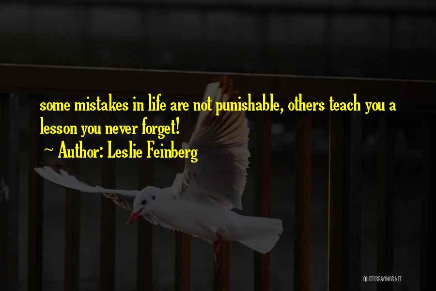 Leslie Feinberg Quotes 1994779