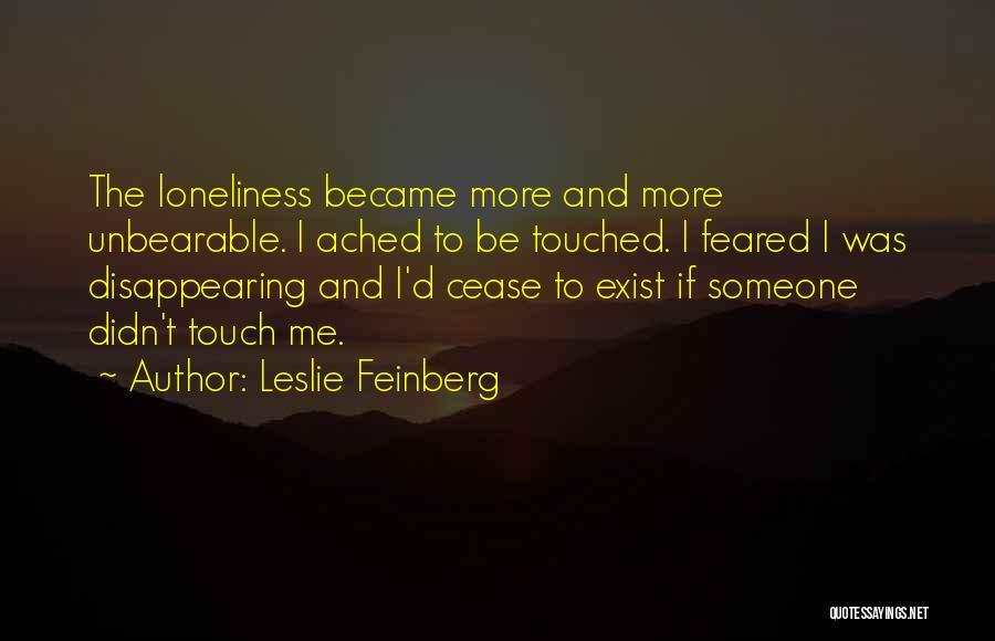 Leslie Feinberg Quotes 208765