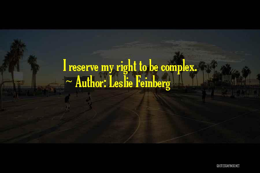 Leslie Feinberg Quotes 237837