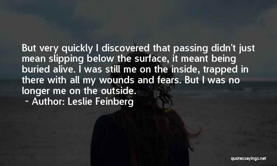 Leslie Feinberg Quotes 403308
