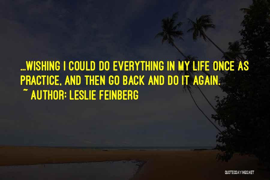 Leslie Feinberg Quotes 463325
