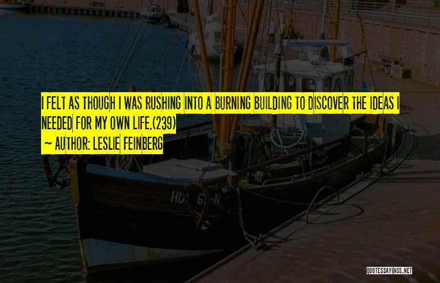 Leslie Feinberg Quotes 587753