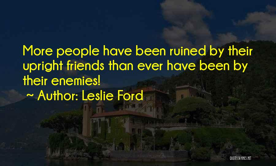 Leslie Ford Quotes 372639