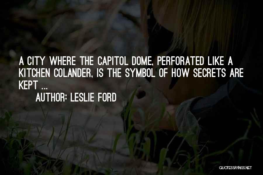 Leslie Ford Quotes 702372