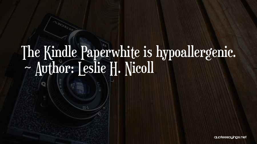 Leslie H. Nicoll Quotes 1149270
