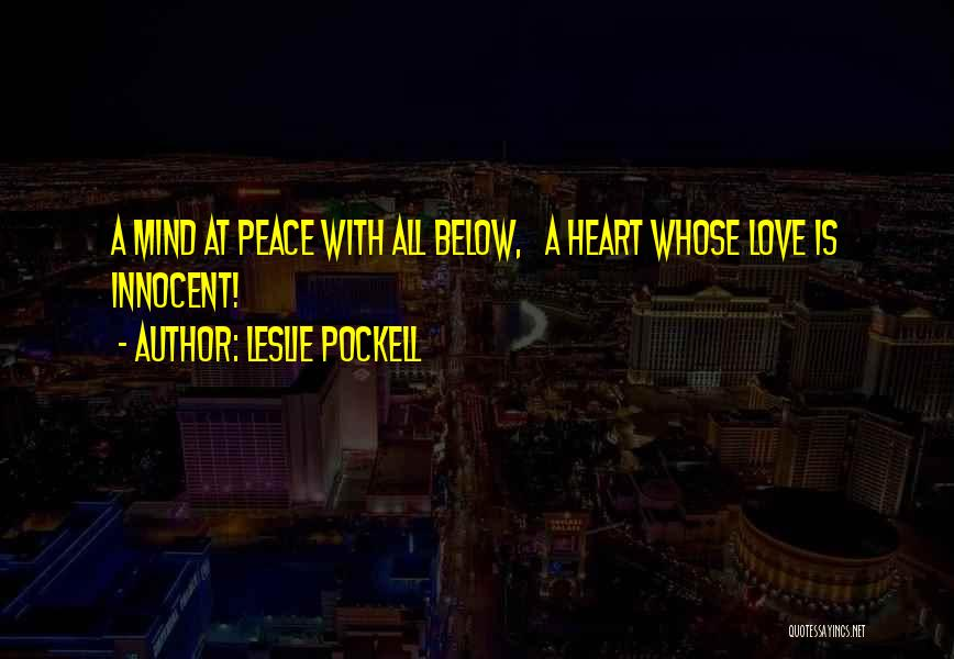 Leslie Pockell Quotes 1202661