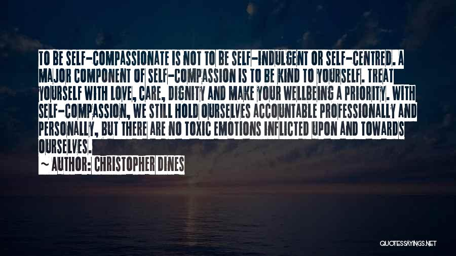Less Priority Love Quotes By Christopher Dines